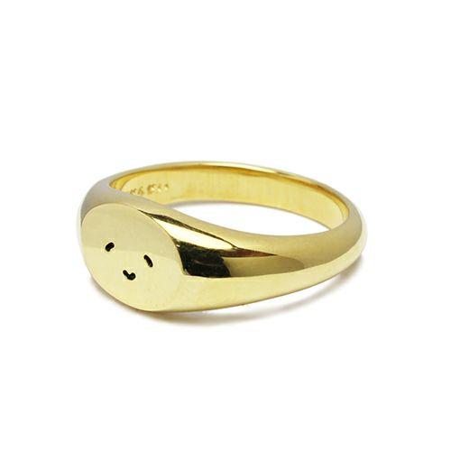 【JAM HOME MADE(ジャムホームメイド)】とんぼせんせい スマイルリング S -GOLD- / 指輪