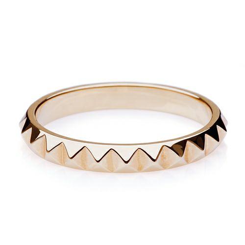 【JAM HOME MADE(ジャムホームメイド)】フルエターナルスタッズマリッジリング M -K18YELLOWGOLD- / 結婚指輪・マリッジリング ウエディングリング