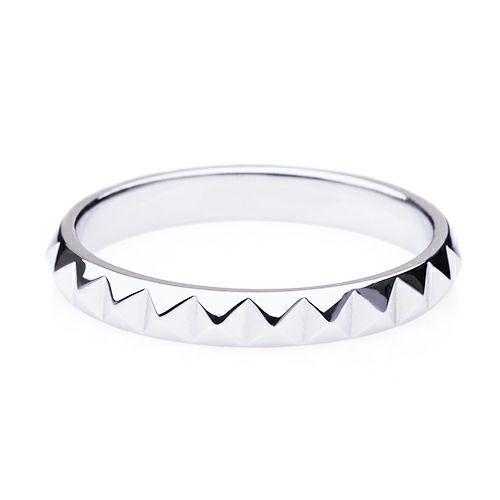 【ジャムホームメイド(JAMHOMEMADE)】フルエターナルスタッズマリッジリング M -K18WHITEGOLD- / 結婚指輪・マリッジリング