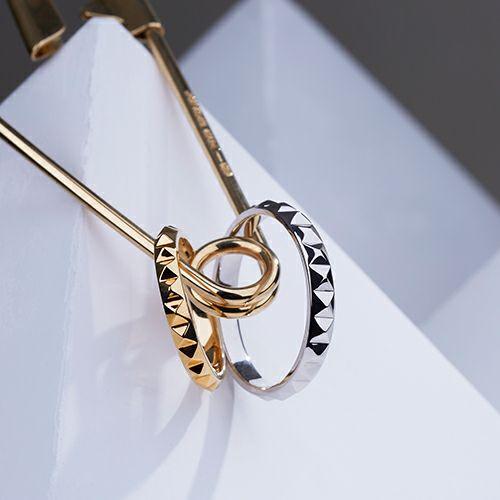 【JAM HOME MADE(ジャムホームメイド)】フルエターナルスタッズマリッジリング S -K18WHITEGOLD- / 結婚指輪・マリッジリング ウエディングリング