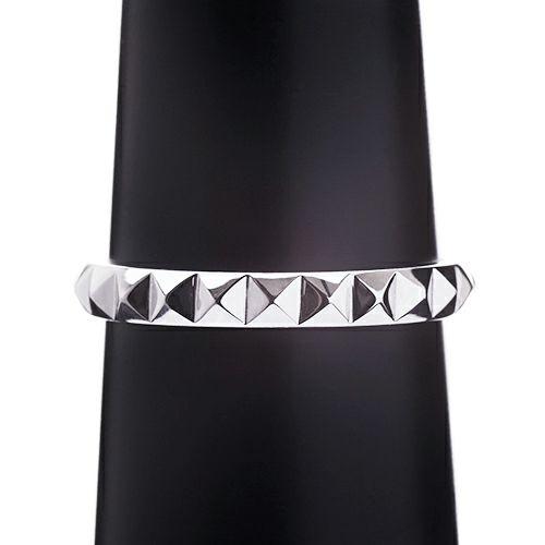 結婚指輪・マリッジリング ウエディングリング / フルエターナルスタッズマリッジリング M -PT900-