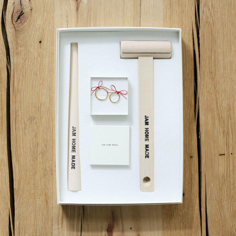 名もなき指輪キット-NAMELESS RING KIT -NECKLACE SET- /ペアリング・ペアネックレス