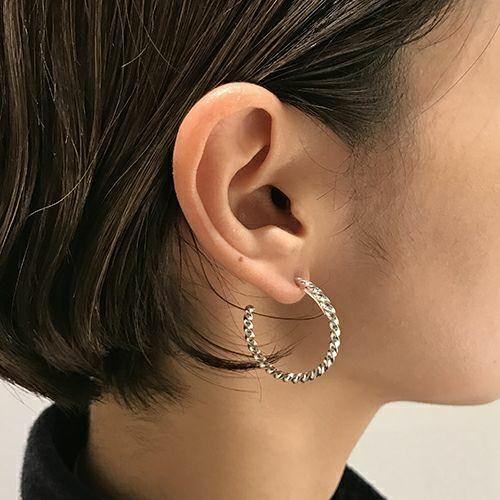 オンラインショップ限定 クルクルピアス S -PAIR- / 両耳