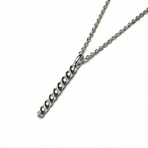 【JAM HOME MADE(ジャムホームメイド)】オンラインショップ限定 クルクルネックレス S メンズ レディース ペア シルバー 人気 ブランド おすすめ ギフト プレゼント 誕生日 シンプル ダイヤモンド