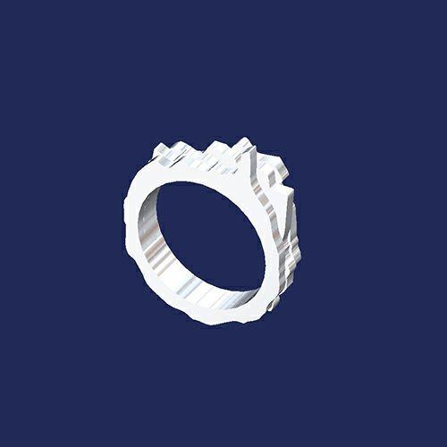 3D XZ リング S / 指輪・リング
