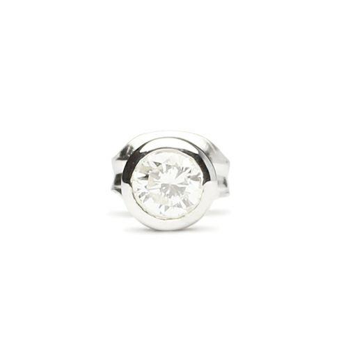【JAM HOME MADE(ジャムホームメイド)】ダイヤモンドモダンピアス 3mm メンズ シルバー ブランド おすすめ 人気 誕生日 プレゼント ギフト 片耳 シンプル