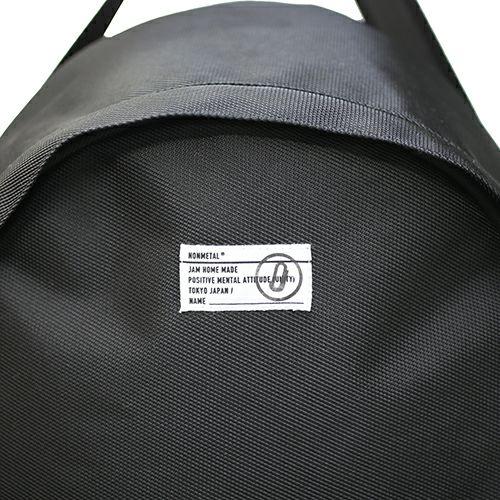 【JAM HOME MADE(ジャムホームメイド)】nonmetal デイパック L -BLACK- / リュック  メンズ レディース ユニセックス バックパック 旅行 人気 おすすめ ブランド ビジネス 通勤 通学