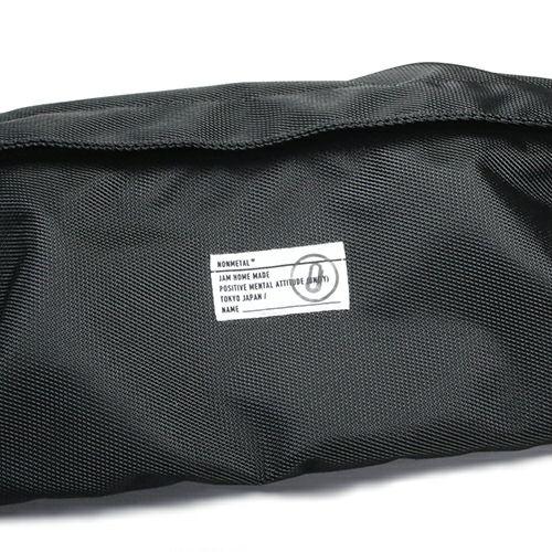 旅行用カバン / nonmetal ショルダーボディバッグ  -BLACK - メンズ レディース ユニセックス 肩掛け ウエストバック 人気 おすすめ ブランド