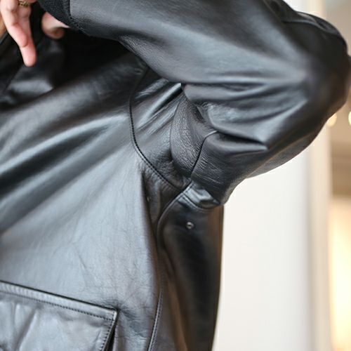 アウターコート・ジャケット / AG3 レザージャケット メンズ レザー ブラック アウター A-2 G-1 Steve McQueen(スティーブ・マックイーン) The Great Escape(大脱走) ボア フライトジャケット S M L XL