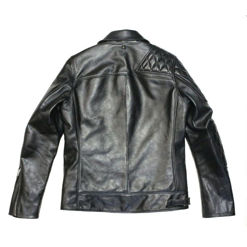 【JAM HOME MADE(ジャムホームメイド)】LEWISON レザージャケット メンズ レザー ブラック アウター Lewis Leathers (ルイスレザー) Vanson (バンソン) ライダース バイク
