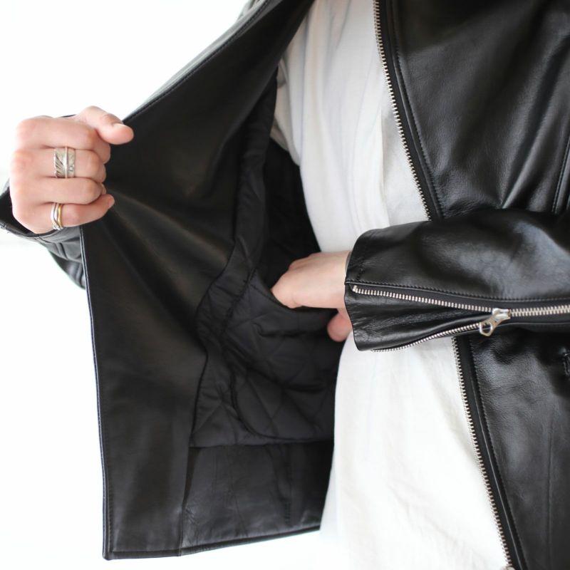 """【ジャムホームメイド(JAMHOMEMADE)】レザー ライダースジャケット """"MONSTAR"""""""