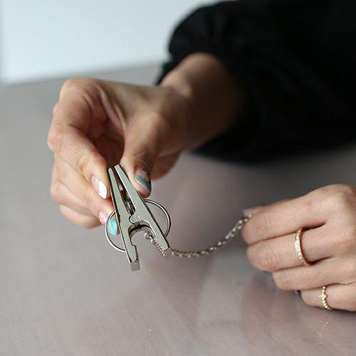 小物キーチェーン / A-アナーキー グローブホルダー -SILVER925- メンズ ブランド 人気 おすすめ シルバー 鞄/バック 手袋 チェーン シンプル パンク ロック