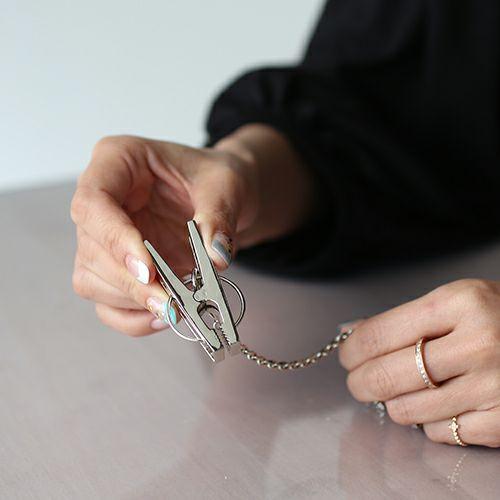 小物キーチェーン / A-アナーキー グローブホルダー -BRASS- メンズ ブランド 人気 おすすめ シルバー 鞄/バック 手袋 チェーン シンプル パンク ロック ギフト プレゼント