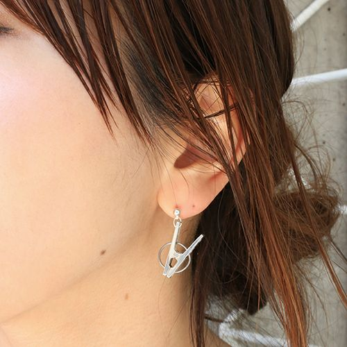 【JAM HOME MADE(ジャムホームメイド)】A-アナーキー ピアス メンズ レディース シルバー 925 ブランド おすすめ 人気 誕生日 プレゼント ギフト 片耳 洗濯バサミ 珍
