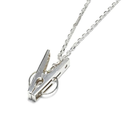【ジャムホームメイド(JAMHOMEMADE)】A-アナーキー ネックレス C - 真鍮