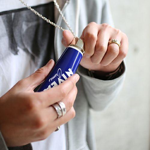 ネックレス / リップキャップ ネックレス -BLUE- メンズ レディース シルバー 人気 ブランド おすすめ ギフト プレゼント 誕生日 アクセサリー ニベア NIVEA ハンドクリーム