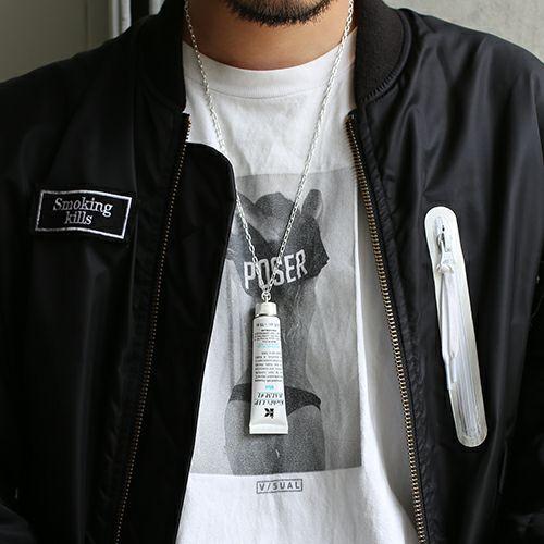 【JAM HOME MADE(ジャムホームメイド)】リップキャップ ネックレス -WHITE- メンズ レディース シルバー 人気 ブランド おすすめ ギフト プレゼント 誕生日 アクセサリー キールズ KIEHL'S スキンケア