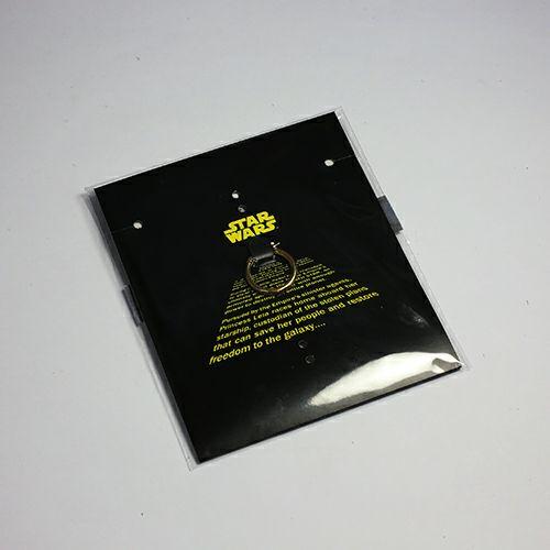 """ピアス / スターウォーズ """"STAR WARS™"""" イントロダクトメッセージピアス -BLACK- メンズ ブラック ブランド おすすめ 人気 誕生日 プレゼント ギフト 片耳 ディズニー コラボ プチプラ ファングッズ"""