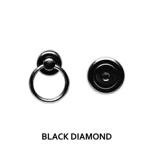 名刺入れ / BLACK DIAMOND 印傳屋(印伝屋) カードケース -LEOPARD- メンズ レディース ユニッセックス 鹿革 上原勇七 ブラック おすすめ 人気 誕生日 プレゼント 日本製