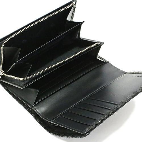印傳屋(印伝屋) 札入れ -LEOPARD- / 二つ折り財布