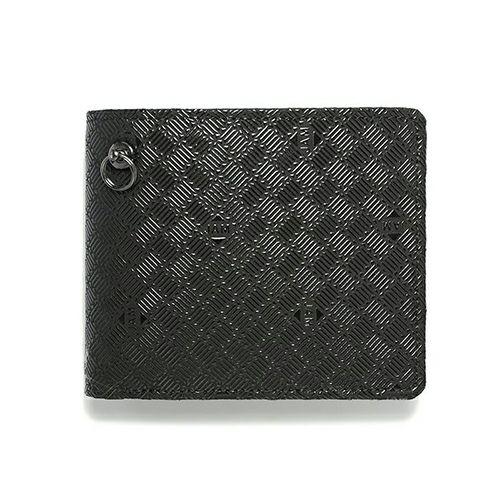 4月 誕生石 印傳屋(印伝屋) ミディアムウォレット -ANECHOIC- / 二つ折り財布