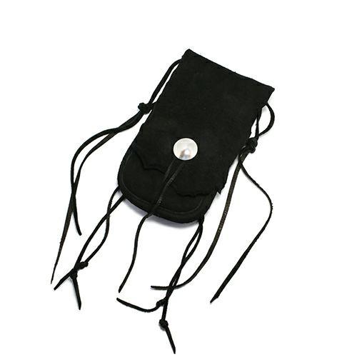 【JAM HOME MADE(ジャムホームメイド)】NAKED メディスンバッグ メンズ 革 ウエストポーチ ヒップバック 旅行 ブラック