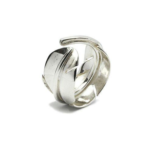 【JAM HOME MADE(ジャムホームメイド)】NAKEDフェザーリング S / 指輪 メンズ シルバー 人気 ブランド おすすめ 羽 ネイティブ モダン