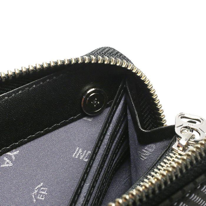 印傳屋(印伝屋) ファスナーロングウォレット TYPE-3 -LEOPARD- / 長財布