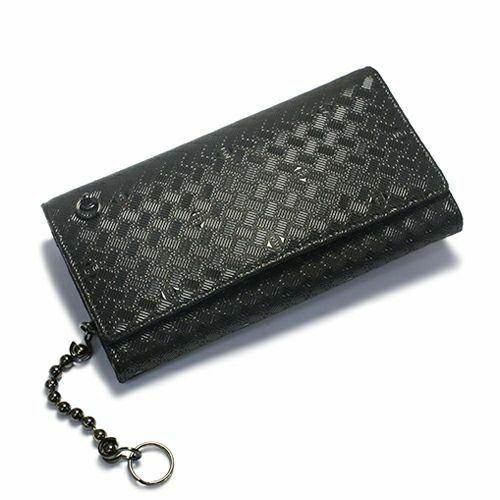 印傳屋(印伝屋) ロングウォレット・束入れ -ANECHOIC- / 長財布