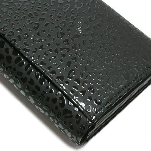 印傳屋(印伝屋) ロングウォレット・束入れ -LEOPARD- / 長財布