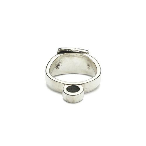 """指輪 / """"INGOD"""" インゴットスタッズリング -10g- メンズ シルバー 925 人気 ブランド おすすめ ごつい 1点もの"""
