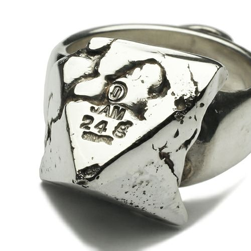 """指輪 / """"INGOD"""" インゴットスタッズリング -24g- メンズ シルバー 925 人気 ブランド おすすめ ごつい 1点もの"""