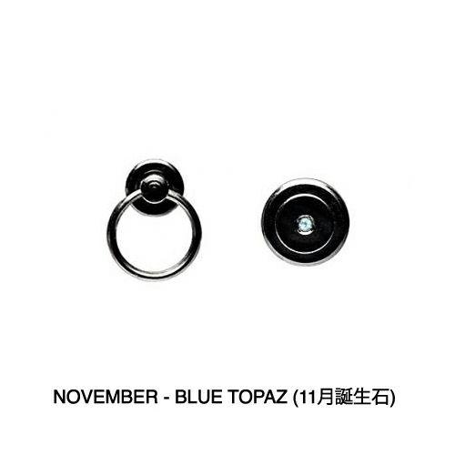 11月 誕生石 印傳屋(印伝屋) コインケース TYPE-3 -ANECHOIC- / 小銭入れ