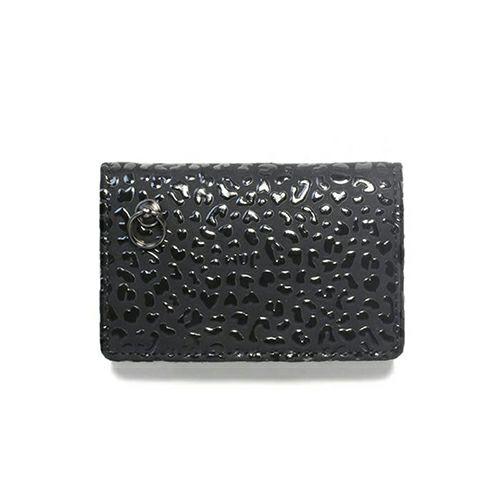 10月 誕生石 印傳屋(印伝屋) コインケース TYPE-3 -LEOPARD- / 小銭入れ / 財布・革財布