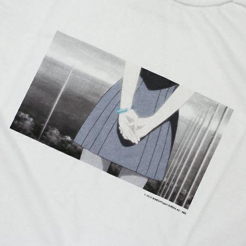 【JAM HOME MADE(ジャムホームメイド)】エウレカセブンAO Tシャツ メンズ レディーズ ユニセックス ホワイト アニメ エウレカセブン レントン
