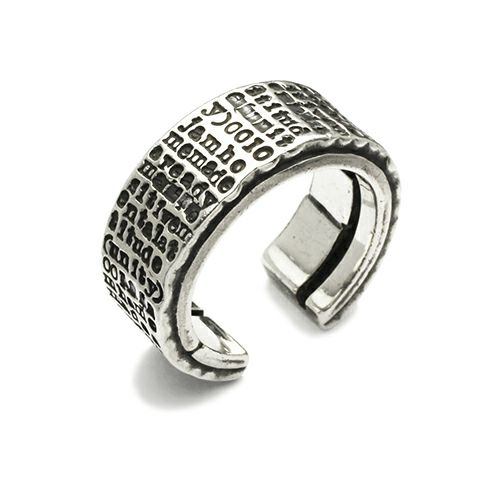 【JAM HOME MADE(ジャムホームメイド)】PMAリング / 指輪 メンズ シルバー 925 人気 おすすめ ブランド オリジナル フリー ごつい