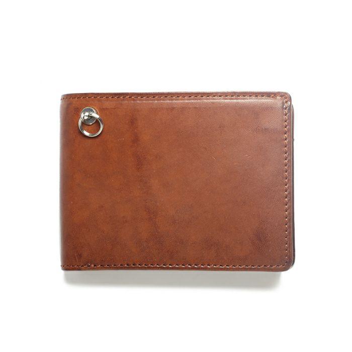 ミディアムウォレット -BROWN- / 二つ折り財布 / 財布・革財布
