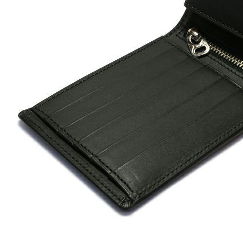 ミディアムウォレット -BLACK- / 二つ折り財布
