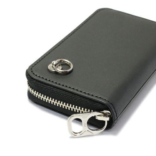 ファスナーコインケース -BLACK- / 小銭入れ
