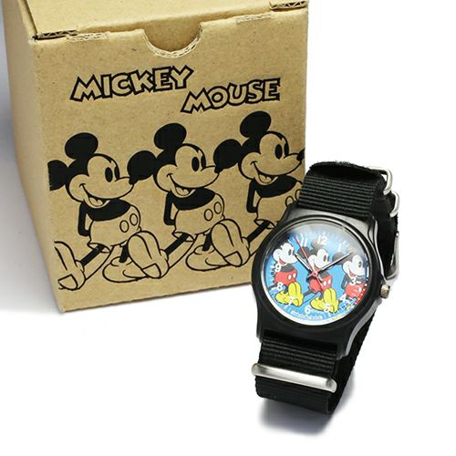 """ミッキー""""MICKEY""""アナログウォッチ -BLUE- / 腕時計 / 時計・腕時計"""
