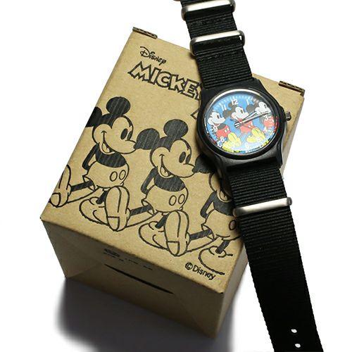 """ミッキー""""MICKEY""""アナログウォッチ -BLUE- / 腕時計"""