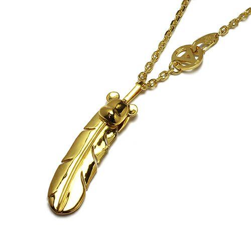 ネックレス / BE@RBRICK/ベアブリック NAKEDフェザーネックレス L -GOLD- メンズ レディース シルバー ゴールド 925 チェーン人気 おすすめ ブランド 羽 コラボ