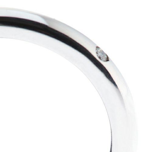 """結婚指輪・マリッジリング ウエディングリング / シークレットスターミッキー""""MICKEY""""リング M -PT900-"""
