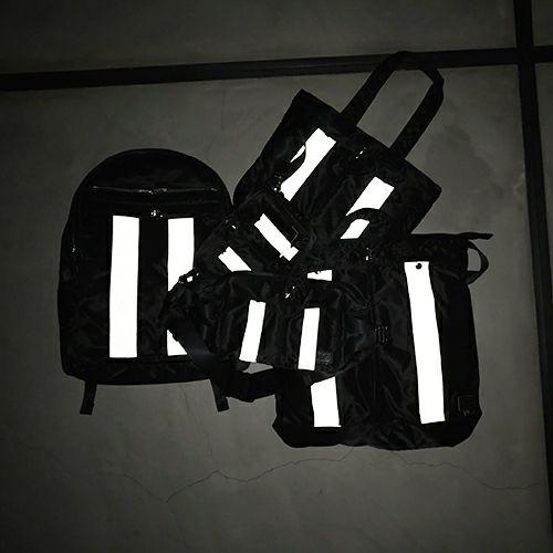 【ジャムホームメイド(JAMHOMEMADE)】ポーター/PORTER アイレット リフレクター ショルダー ボディバッグ ウエストポーチ