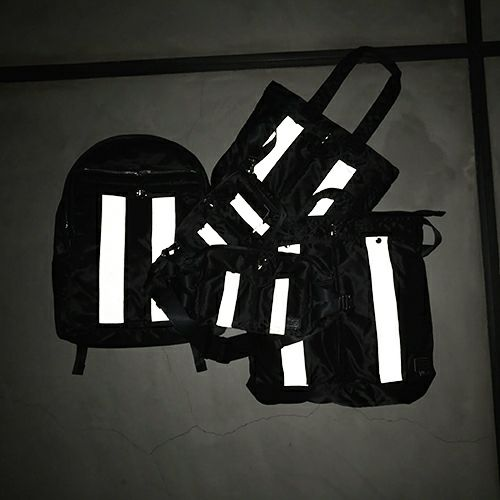 【JAM HOME MADE(ジャムホームメイド)】ポーター/PORTER アイレットミニショルダーバッグ / リュック メンズ レディース ユニセックス ショルダー セカンド バックインバック デジカメ ポーチ 旅行 ブラック ハイブランド タンカー 人気 おすすめ ブランド