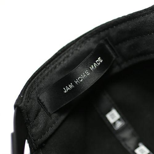 【JAM HOME MADE(ジャムホームメイド)】NEW ERA/ニューエラ JAM HOME MADE ロゴキャップ メンズ 帽子 ブラック ロゴ シンプル サイズ調整 フリーサイズ コラボ 人気 おすすめ ブランド