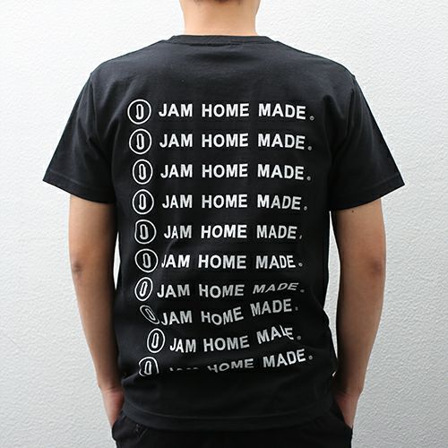 【JAM HOME MADE(ジャムホームメイド)】JAM HOME MADE ロゴTシャツ -BLACK-