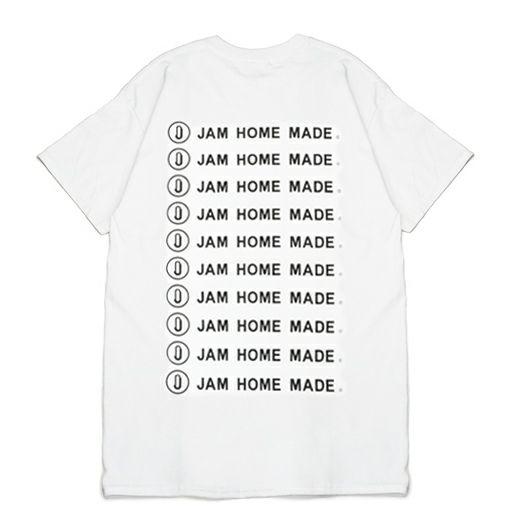 【JAM HOME MADE(ジャムホームメイド)】JAM HOME MADE ロゴTシャツ -WHITE-
