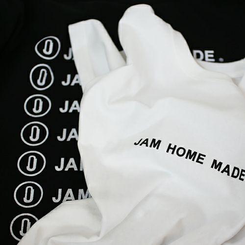 衣料品トップス / JAM HOME MADE ロゴTシャツ -WHITE-