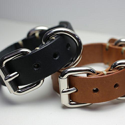 ブレスレット / ドッグカラー=ヒューマンブレスレット&アンクレット -BROWN- メンズ レザー  人気 ブランド シンプル おすすめ 犬 首輪